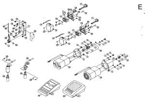 MOTOR ASSY Diagram & Parts List for Model 3116 Singer
