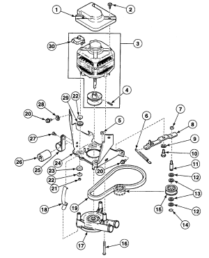 MOTOR ASSY Diagram & Parts List for Model SWT821WN Speed
