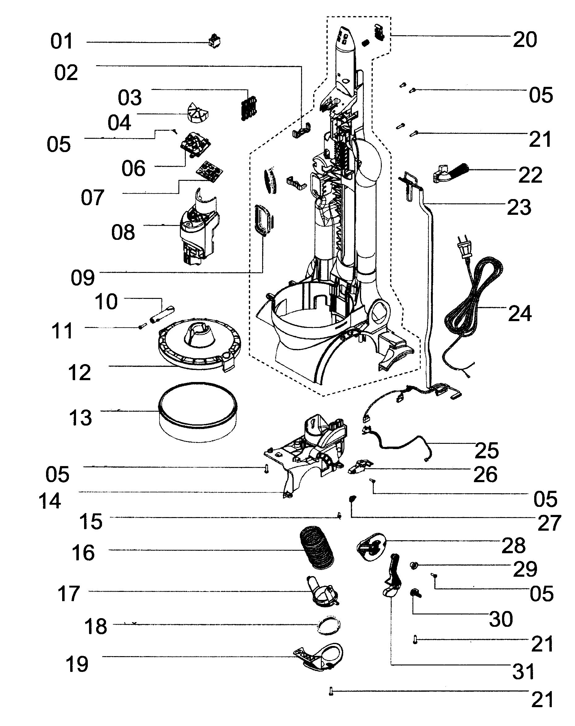 Dyson vacuum parts model dc28 sears partsdirect rh searspartsdirect