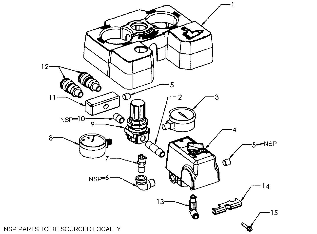 Craftsman air pressor parts model 92116473 sears partsdirect wiring diagram