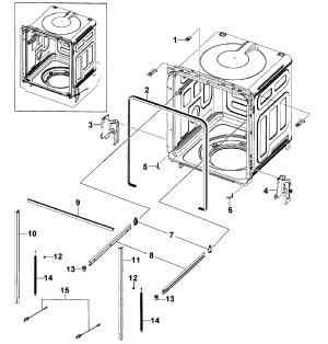 SAMSUNG DISHWASHER Parts | Model DMR57LFBXAA0000 | Sears