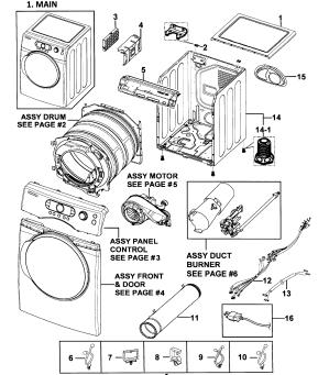 SAMSUNG DRYER Parts | Model DV328AGWXAA0000 | Sears