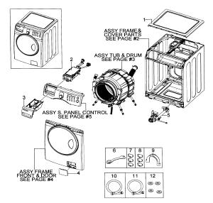 SAMSUNG WASHER Parts | Model wf218anwxaa0000 | Sears