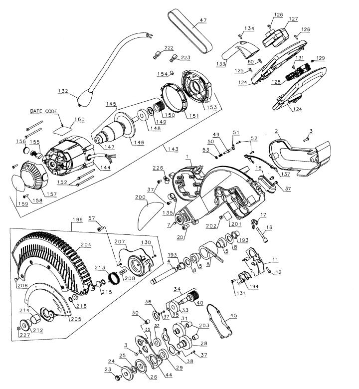 Dewalt Miter Saw Parts Dws780 | Newmotorjdi co