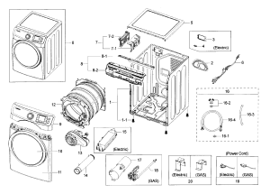 SAMSUNG DRYER Parts | Model DV42H5000EWA30000 | Sears