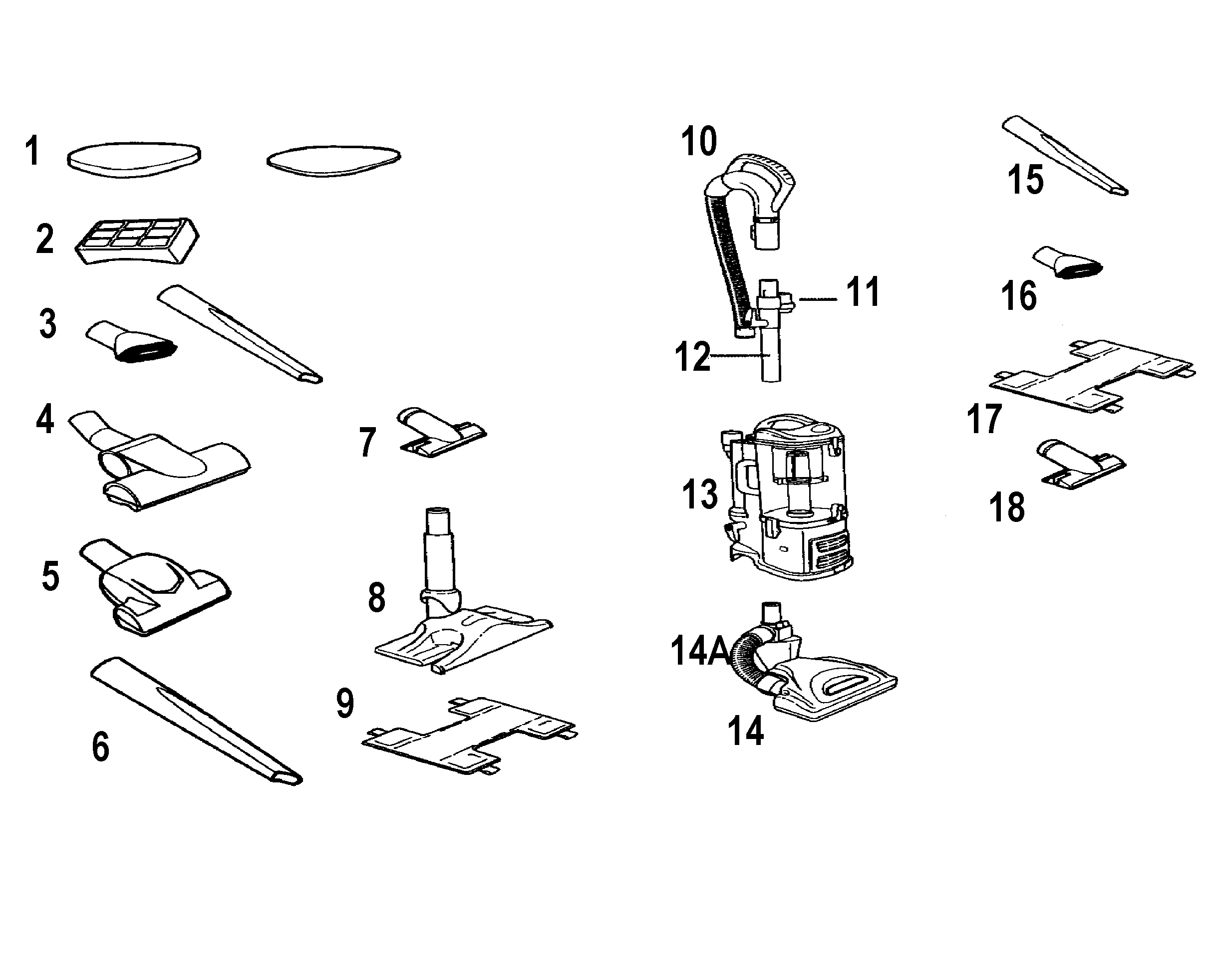 Shark Navigator Lift Away Vacuum Parts Diagram
