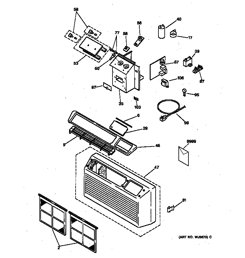 Home Air Conditioning Parts