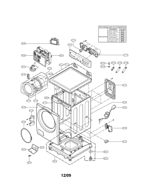 LG WASHER Parts | Model WM2050CW | Sears PartsDirect