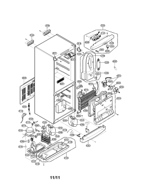 LG REFRIGERATOR Parts | Model LRBP1031T | Sears PartsDirect