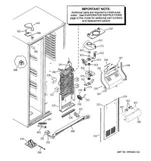 [WRG2586] Ge Refrigerator Motherboard Wiring Diagram