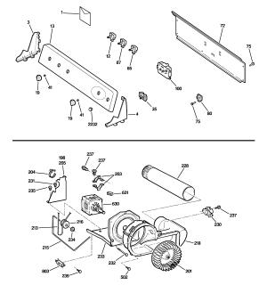 GE ELECTRIC DRYER Parts | Model DWSR463EG5WW | Sears
