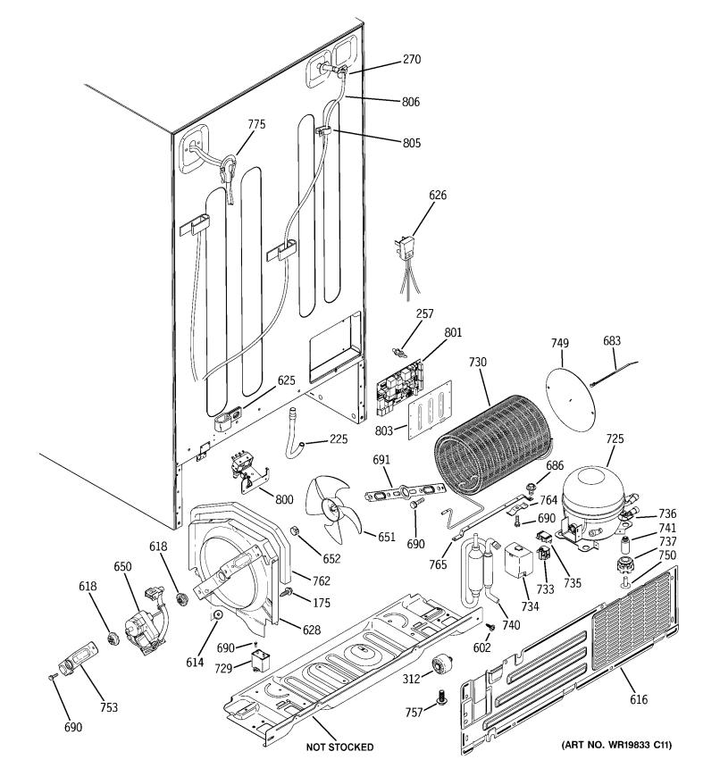 ge hotpoint refrigerator parts diagram