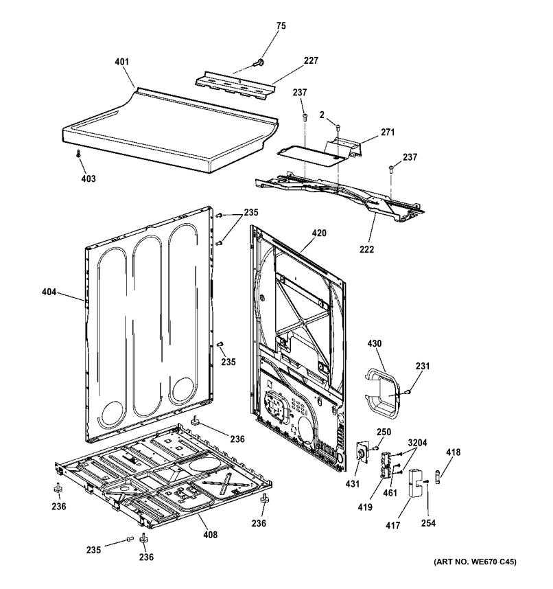 Hotpoint Tumble Dryer Parts Diagram