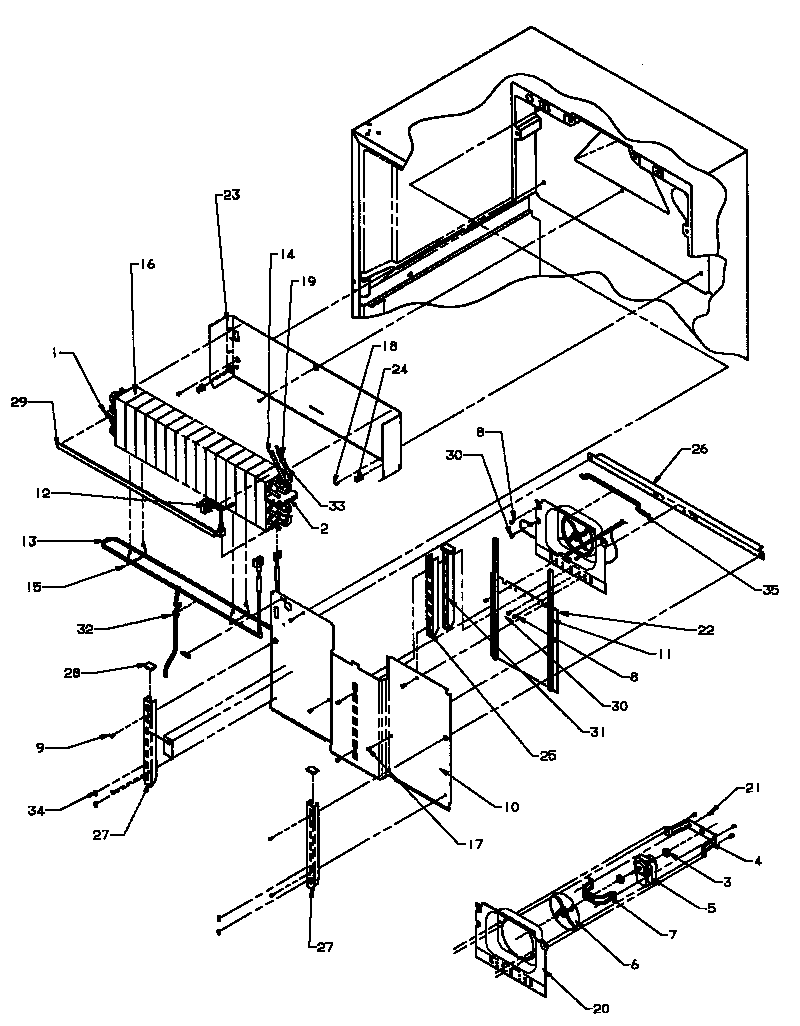 Amana top mount refrigerator freezer parts model tc18a3wp1181812ww sears partsdirect