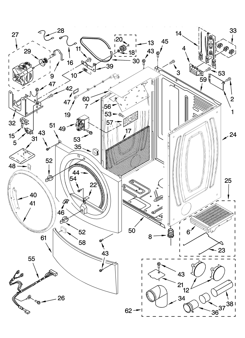Kenmore Elite He5t Washer Parts Diagram