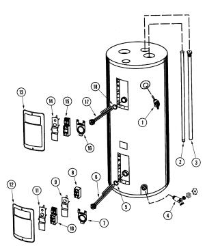 MAYTAG WATER HEATER Parts | Model HJ6522JRSCSA | Sears