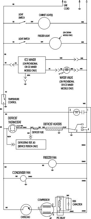 Refrigeration: Refrigeration Wiring Diagrams Compressor