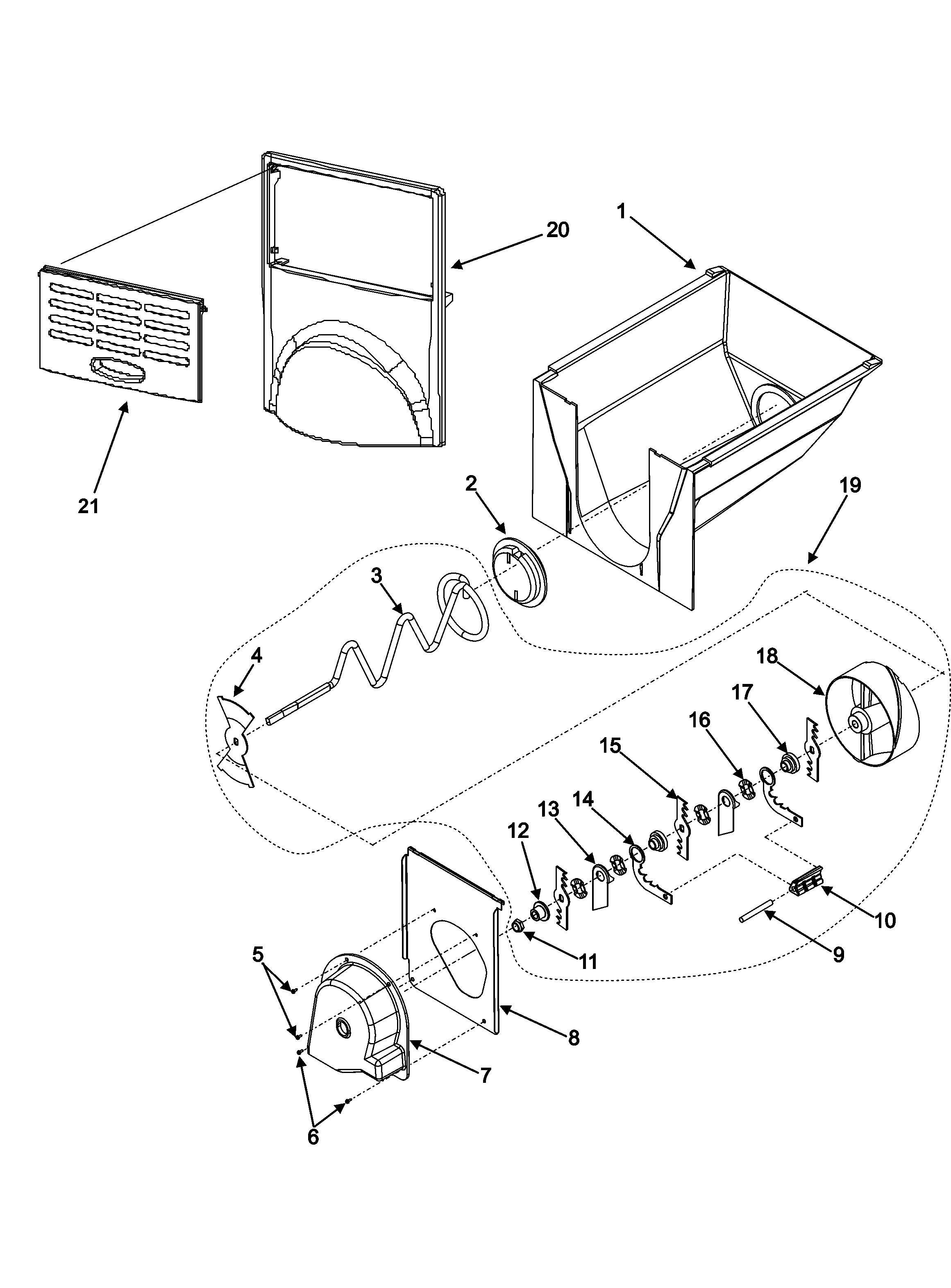 Amana model asd2624hes side by side refrigerator genuine parts amana tandem 7300 parts diagram amana parts diagram
