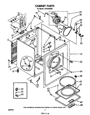 WHIRLPOOL | Model #LE6150XSW0 | Residential Dryer