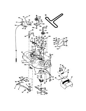Wiring Diagram For Craftsman Lt 1500  Wiring Data