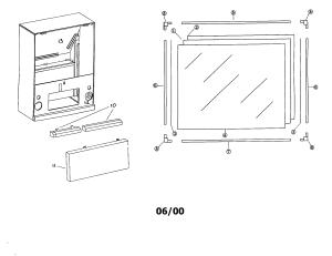 MITSUBISHI MITSUBISHI PROJECTION TELEVISION Parts | Model