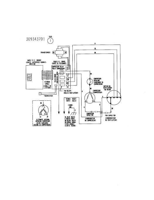 danfoss refrigerator start relay wiring diagram