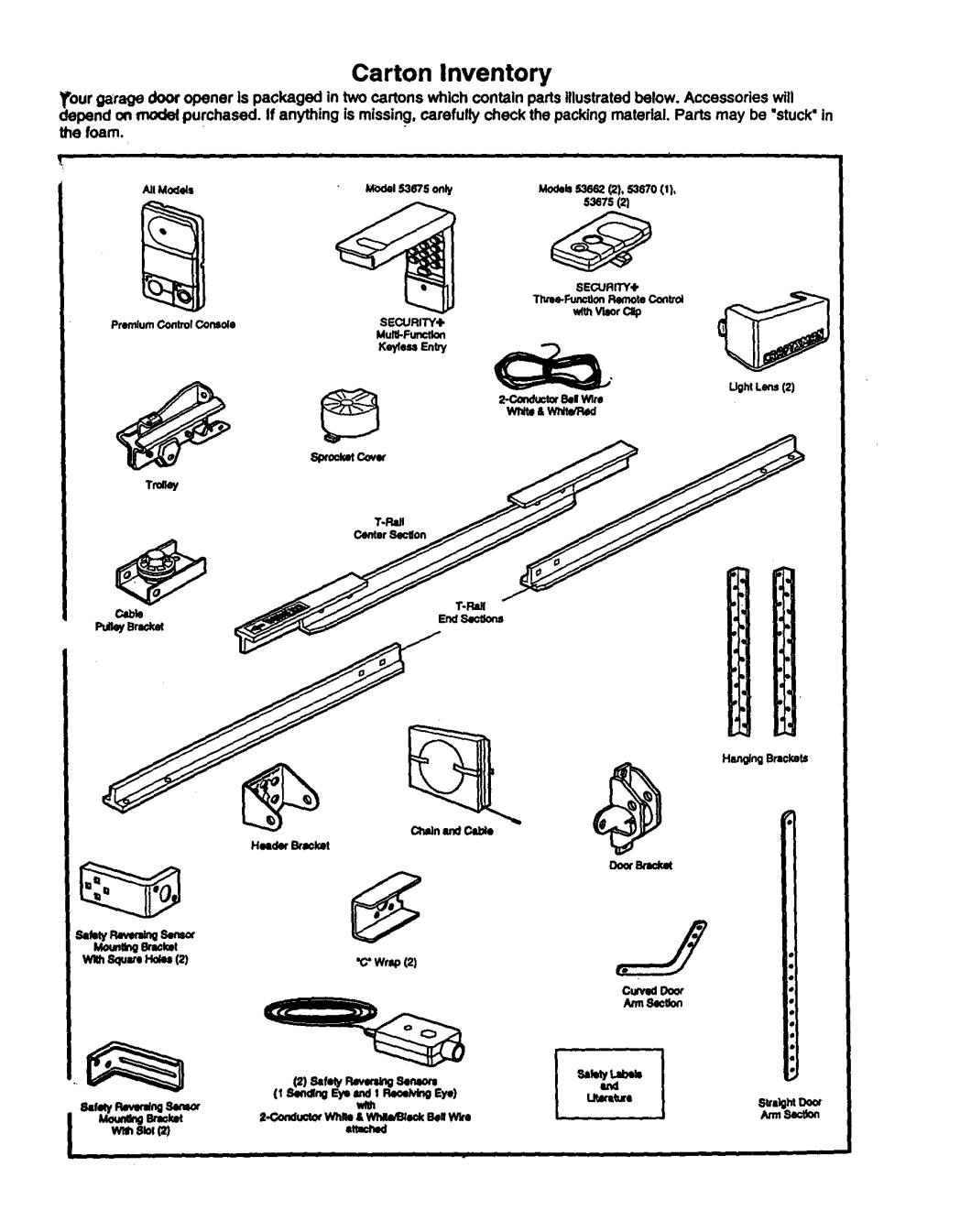 Sears Craftsman Garage Door Opener Manual Hbw0777