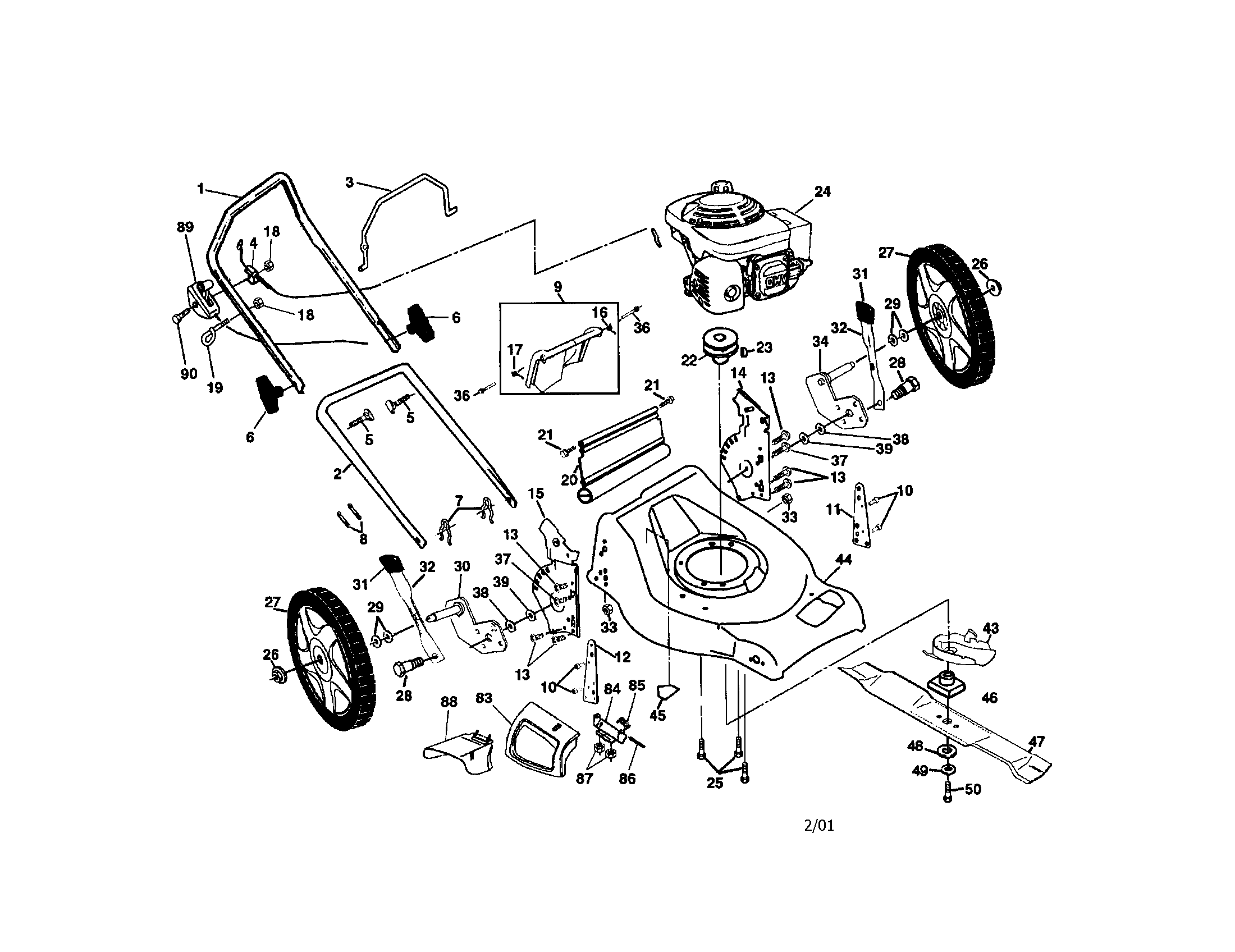 Honda Small Engine Parts Diagram