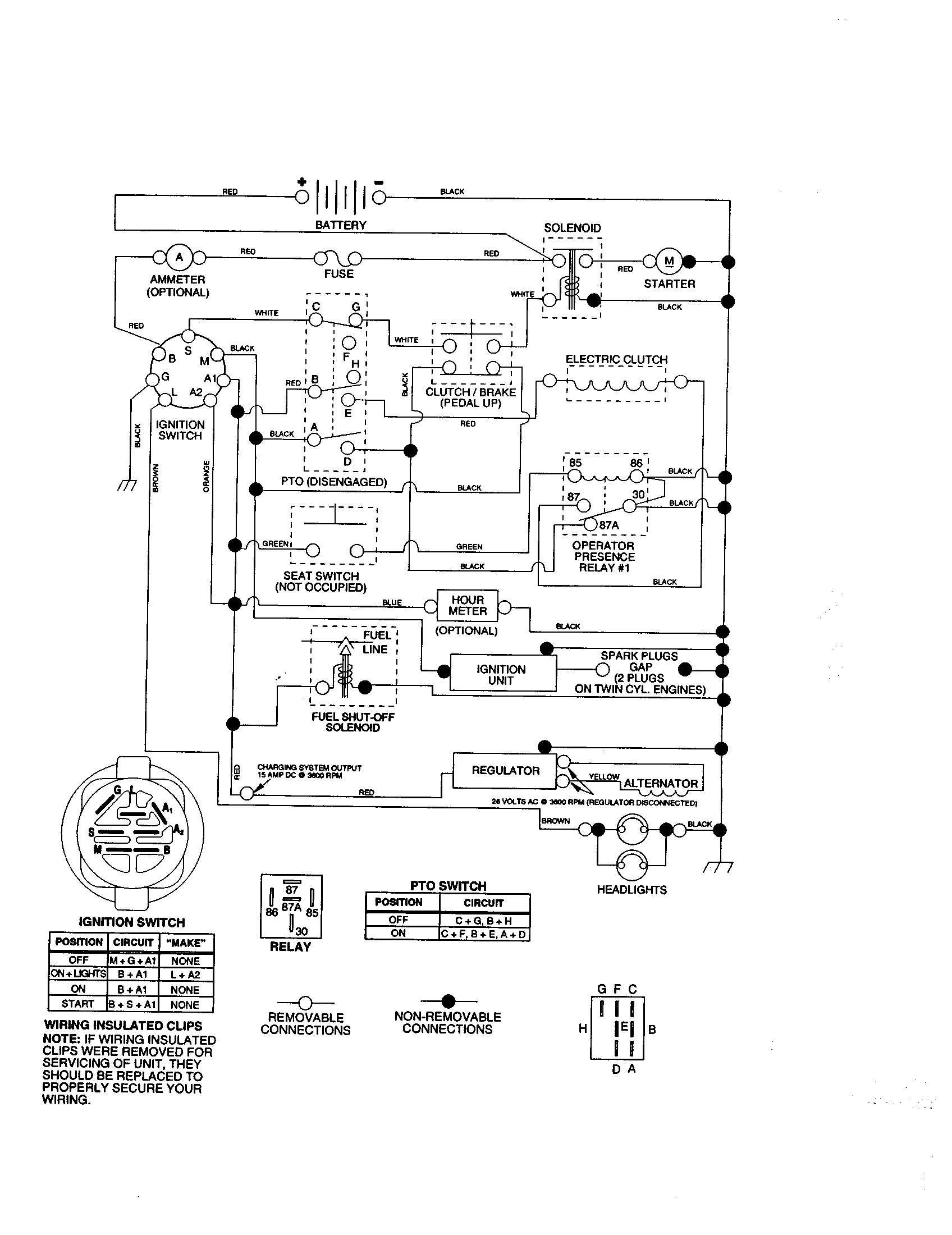 Craftsman model 917273070 lawn tractor genuine parts rh searspartsdirect kohler engine wiring diagrams kohler mand 22 wiring diagram