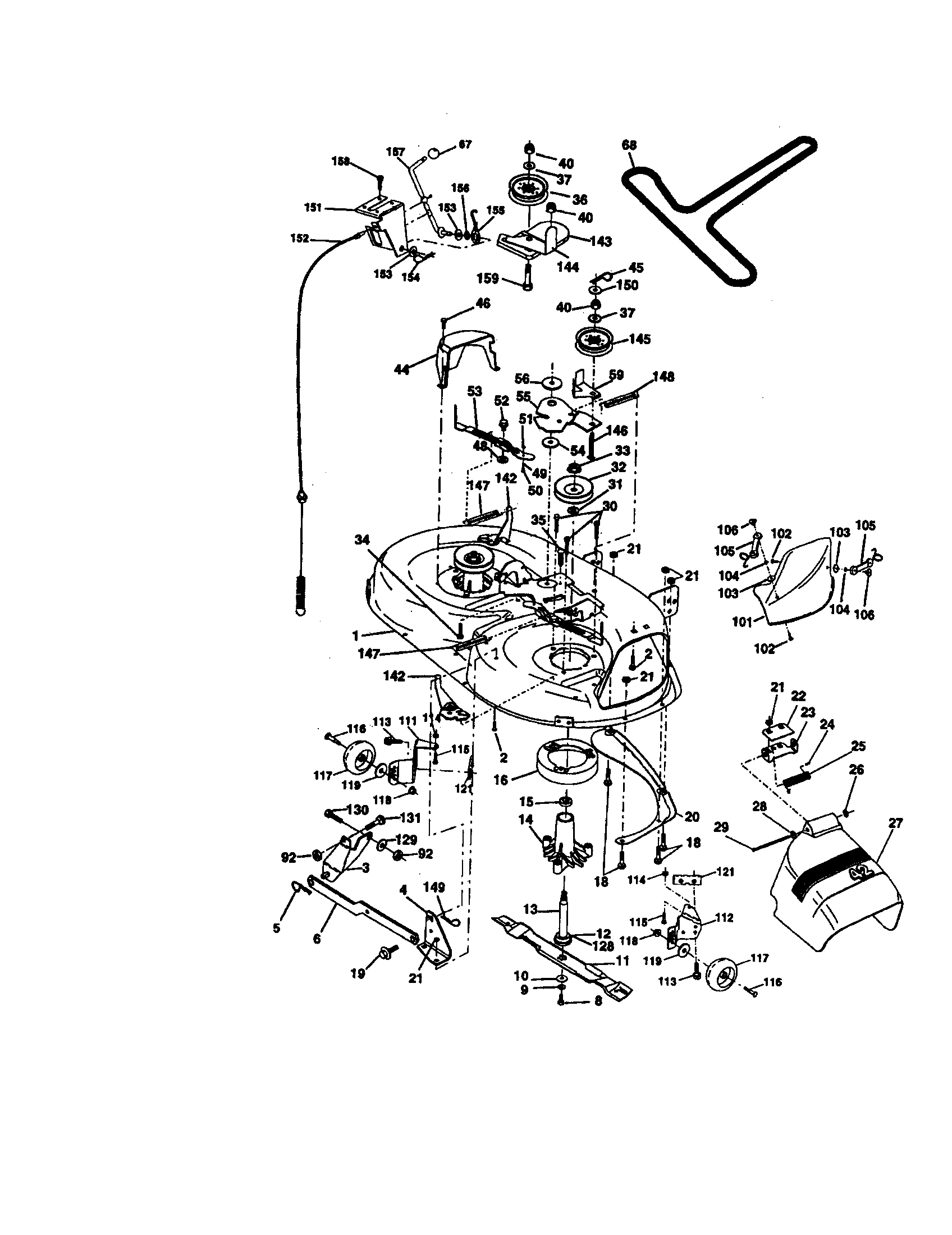 3y83a Wiring Diagram Craftsman Riding Lawn Mower Need One Sears Suburban 12 1 4 Hp Murray