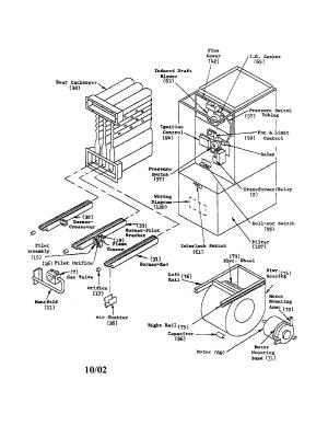 GOODMAN FURNACE Parts | Model eg6g150dc201 | Sears