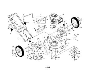 Honda Mower Schematics | Wiring Library