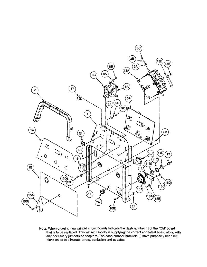 Lincoln Electric Motor Parts Craftsman 358 794742 Wiring Diagram Model Precision Tig 185 11105 To 11109 Welder Genuine