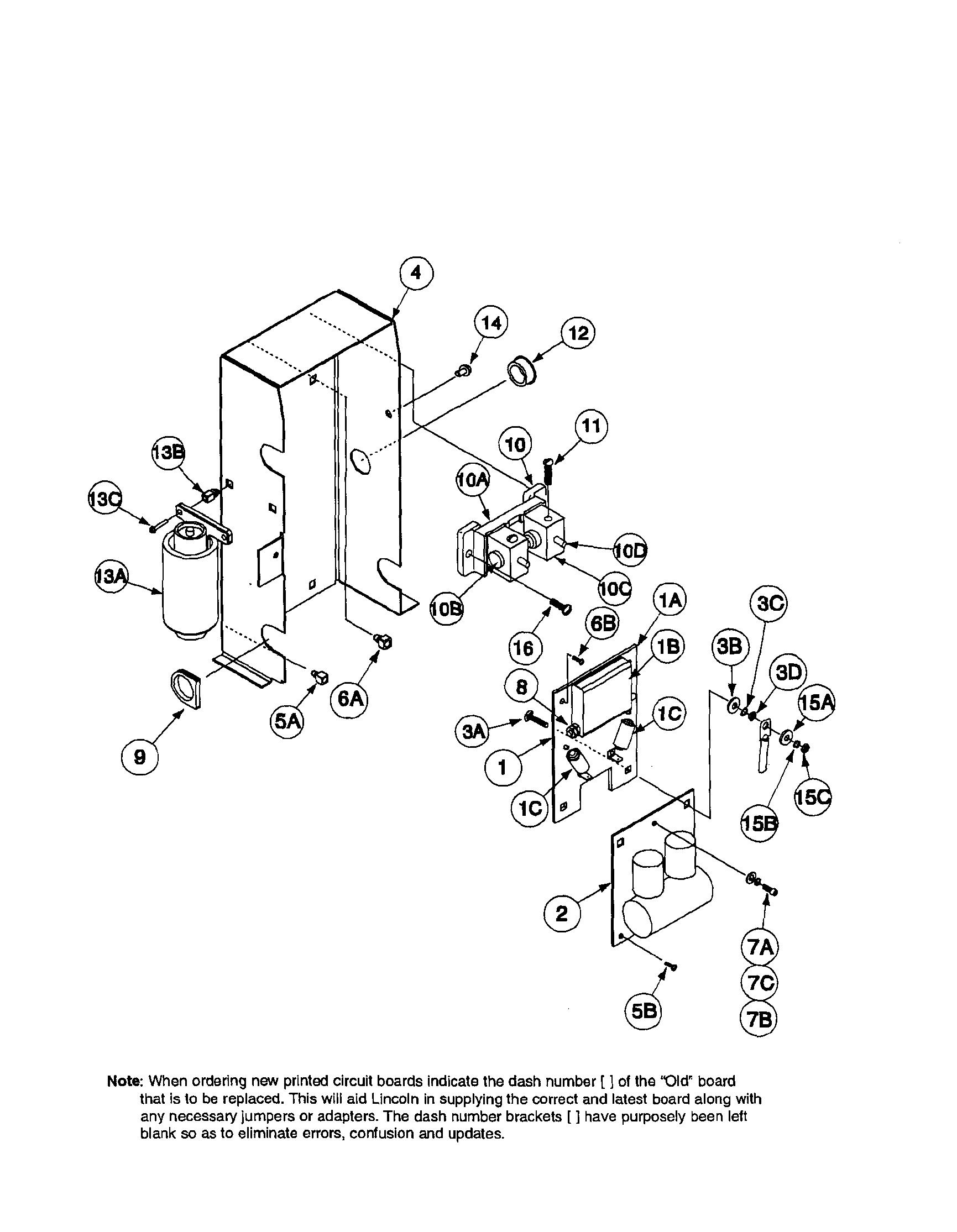 Lincoln precision tig 185 welder parts model precisiontig18511105to11109 sears partsdirect