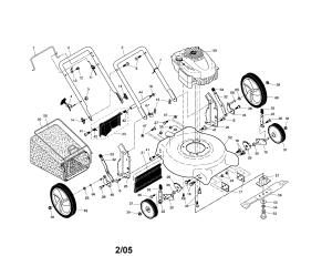 CRAFTSMAN ROTARY MOWER Parts | Model 917388861 | Sears