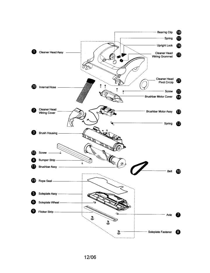 dyson dc07 vacuum parts diagram