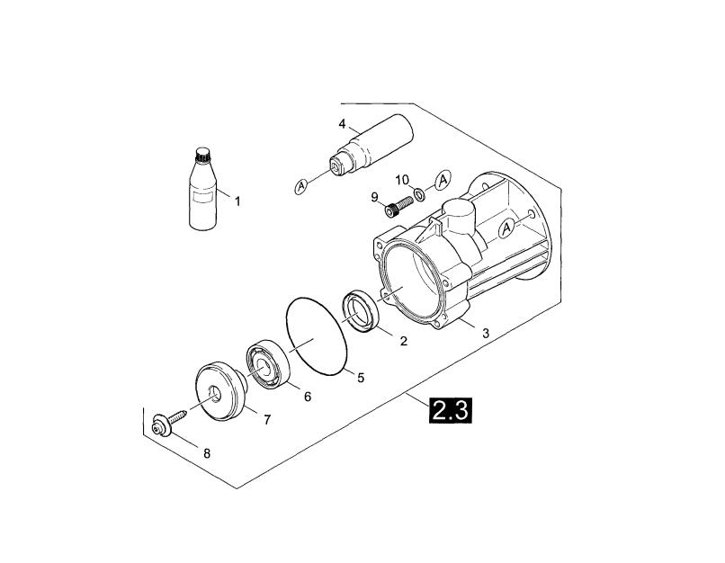K2400hh Gas Pressure Washer Parts