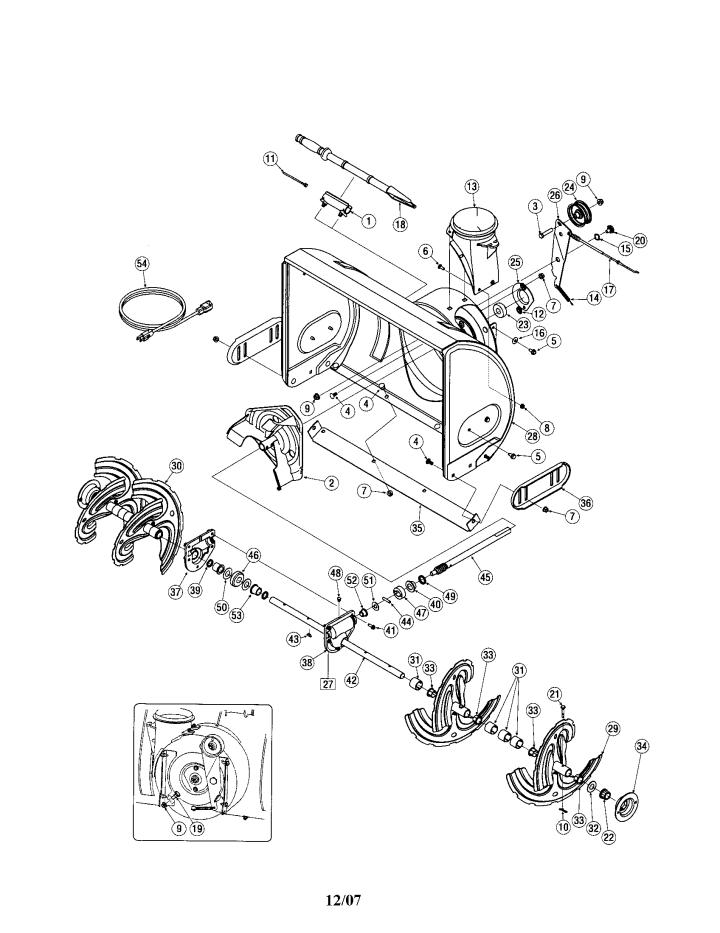 Model 247881900 | CRAFTSMAN SNOW THROWER Parts