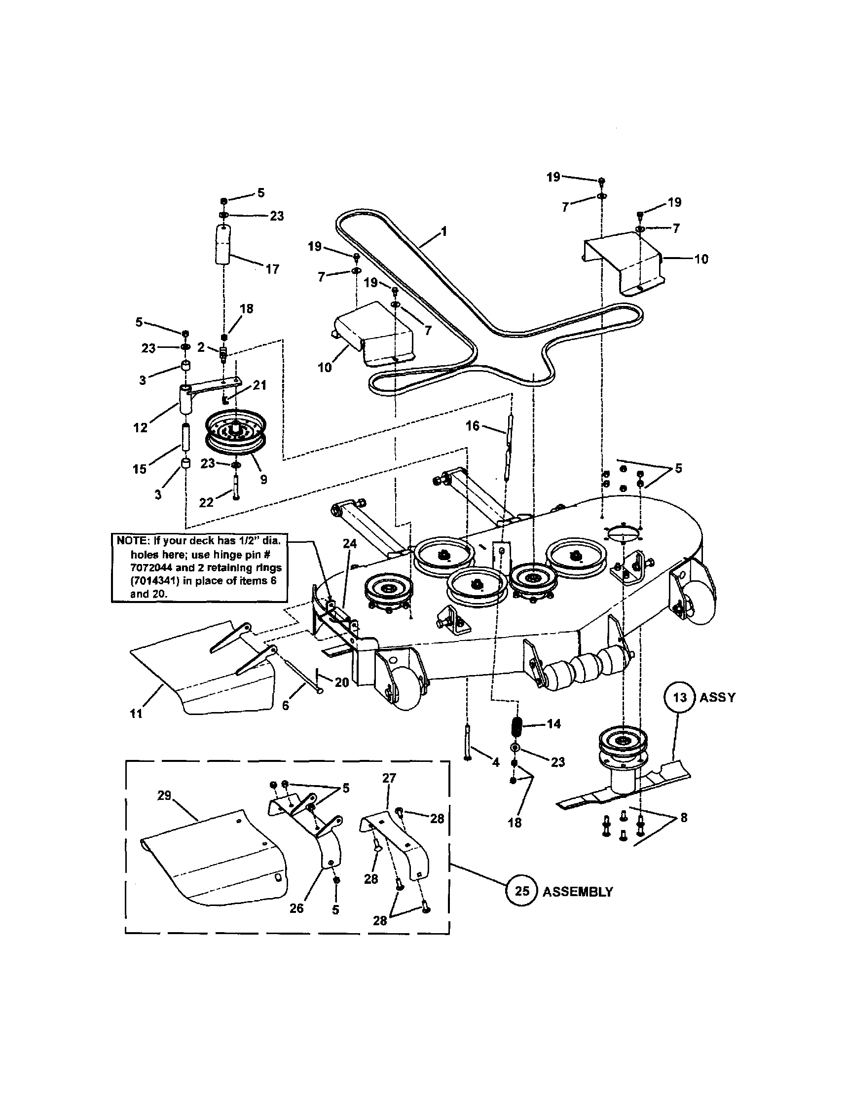 Snapper model czt19481kwv lawn riding mower rear engine genuine parts rh searspartsdirect dana 44 front axle diagram muscle spindle histology