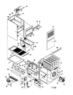 ICP GAS FURNACE Parts | Model ntc6050fba1 | Sears PartsDirect