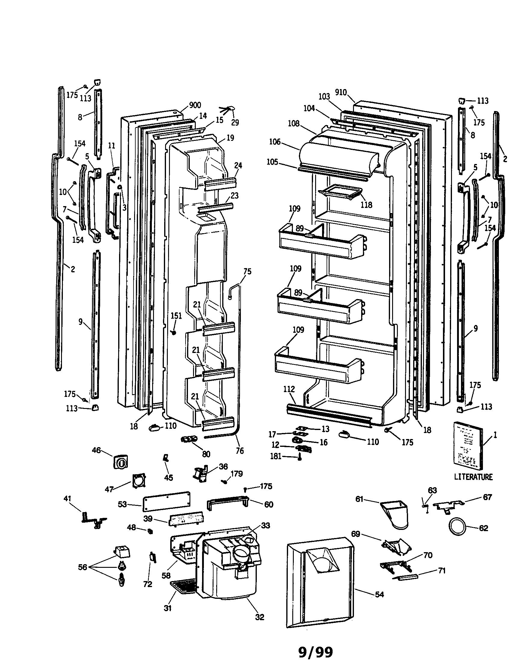 Ge Profile Refrigerator Repair Manual