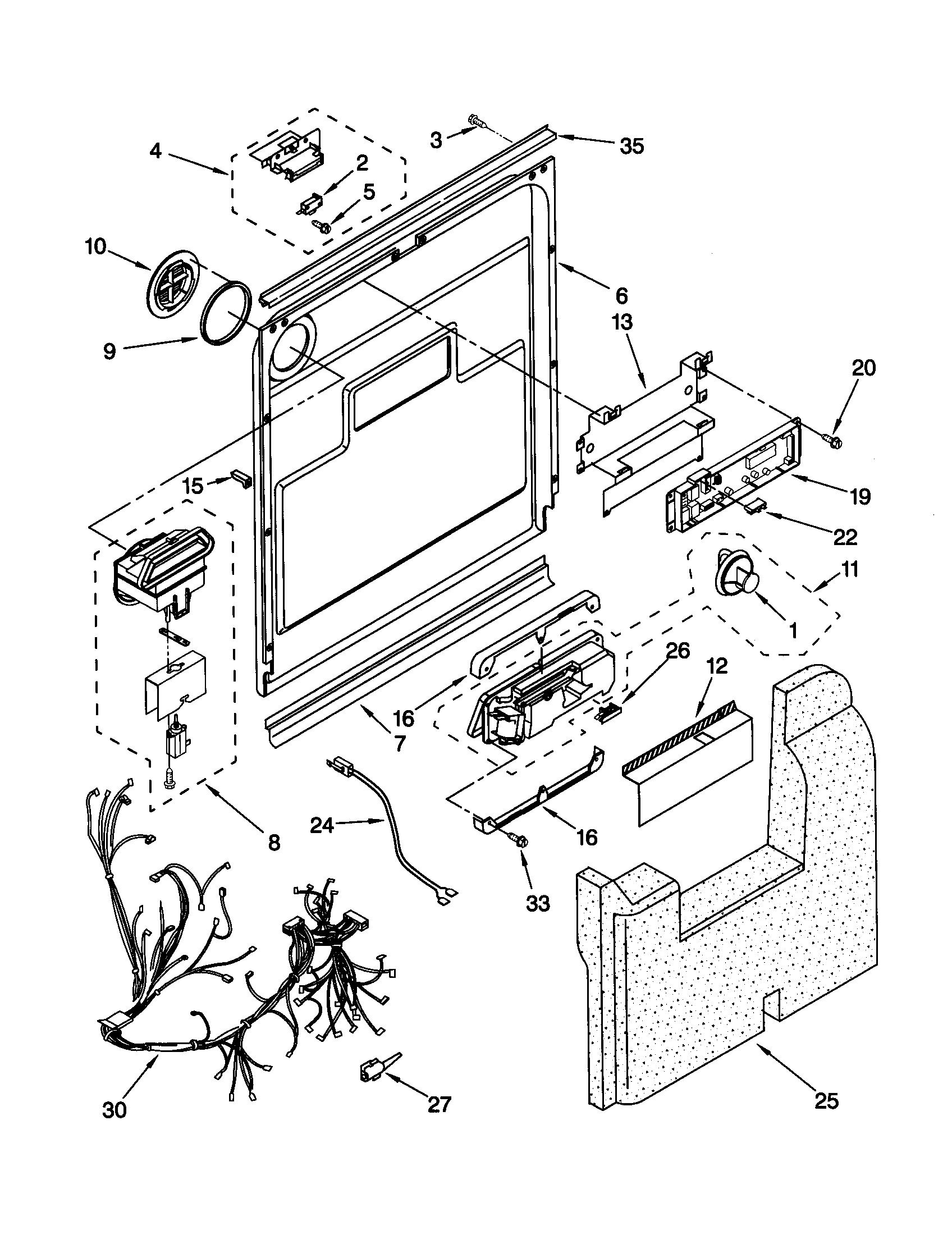Images of Kenmore Dishwasher Wiring Diagram - Wiring diagram schematic