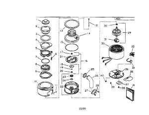 EMERSON FOOD WASTE DISPOSER Parts | Model E305 | Sears