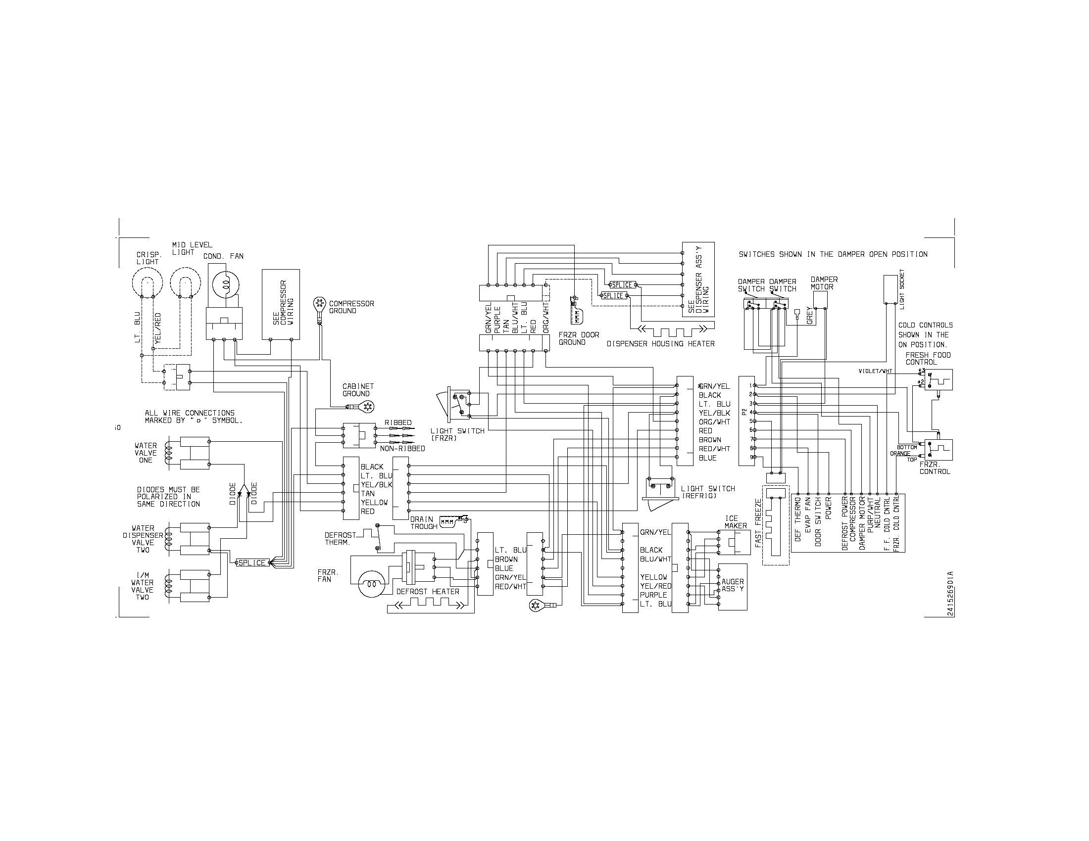 norlake wiring schematic   24 wiring diagram images