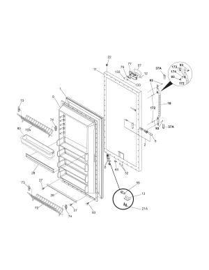 KENMORE ELITE FREEZER Parts   Model 25326072100   Sears