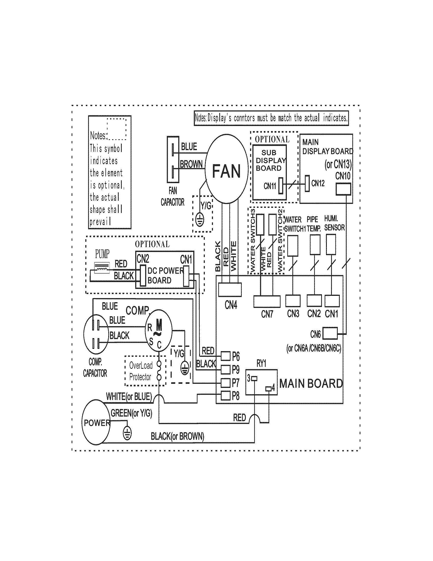 Crosley dehumidifier parts model cdf700w11 sears partsdirect crosley wiring diagram 27 at basic electrical wiring diagrams