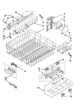 Kitchenaid dishwasher replacement parts  Evaluate Hardware