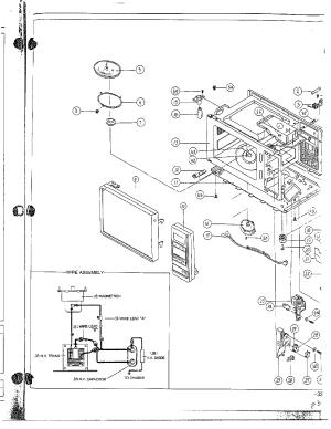SAMSUNG Samsung Microwave Oven Parts | Model MW5350WXAA