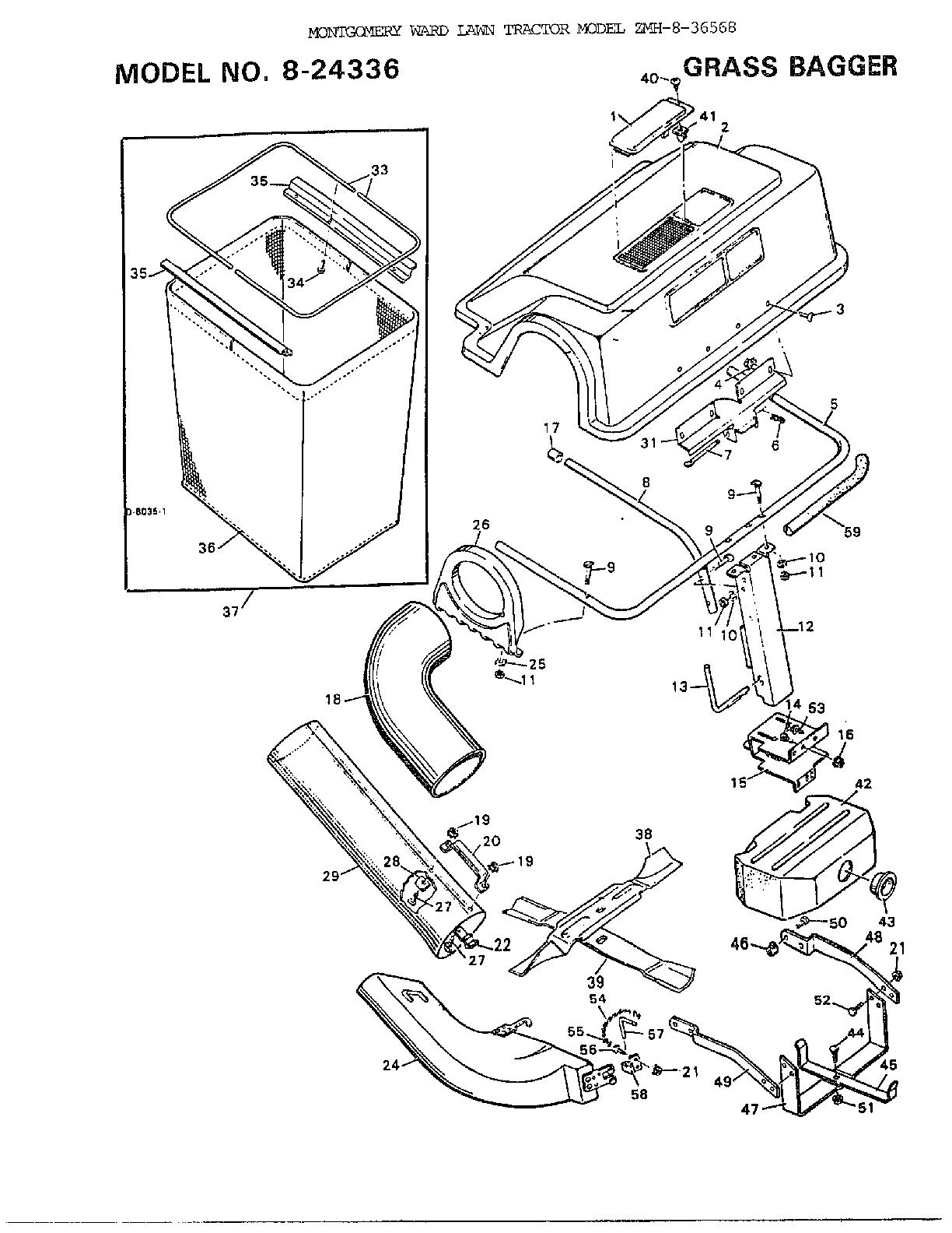 Murray model 8 36568 lawn tractor genuine parts wl000457 00011 1509200html small engine points diagram small engine points diagram