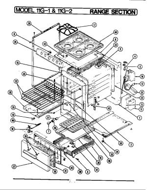 MAGIC CHEF MAGIC CHEF COOKING Parts | Model U11GN1K